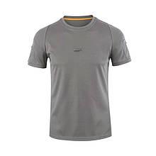 Тактическая футболка поло с коротким рукавом Lesko A825 L Gray