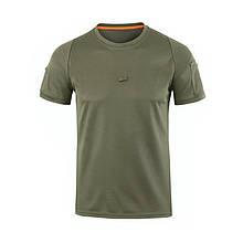 Тактическая футболка поло с коротким рукавом Lesko A825 L Green