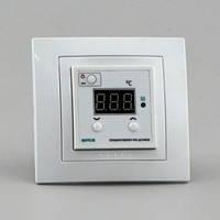 Терморегулятор для теплого пола цифровой для скрытой проводки (0°...+90°, реле 16А) РТА-16/UNICA-NTC