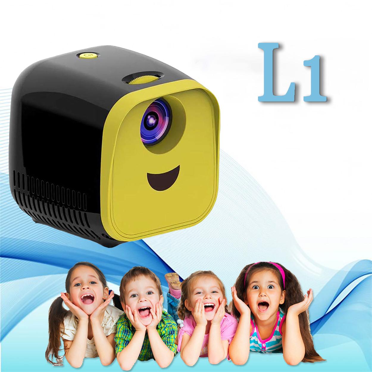 Портативний Проектор Wi-light Vivibright L1 мініпроектор дитячий проектор