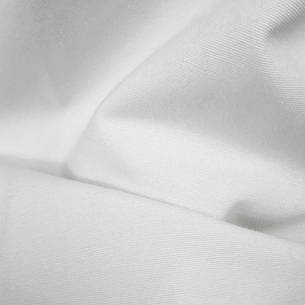 Тканина для Скатертин Біла з просоченням Тефлон-180 Однотонна Туреччина 180см ширина, фото 2