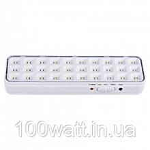 Аварийный светодиодный светильник EVROLIGHT SFT-LED-30-01 аккумуляторный