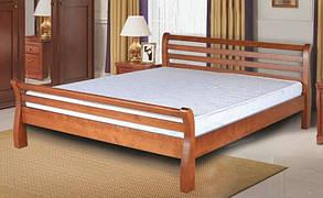 """Дерев'яне ліжко """"Ретро-Люкс"""" (різні розміри) від Mebelvik"""