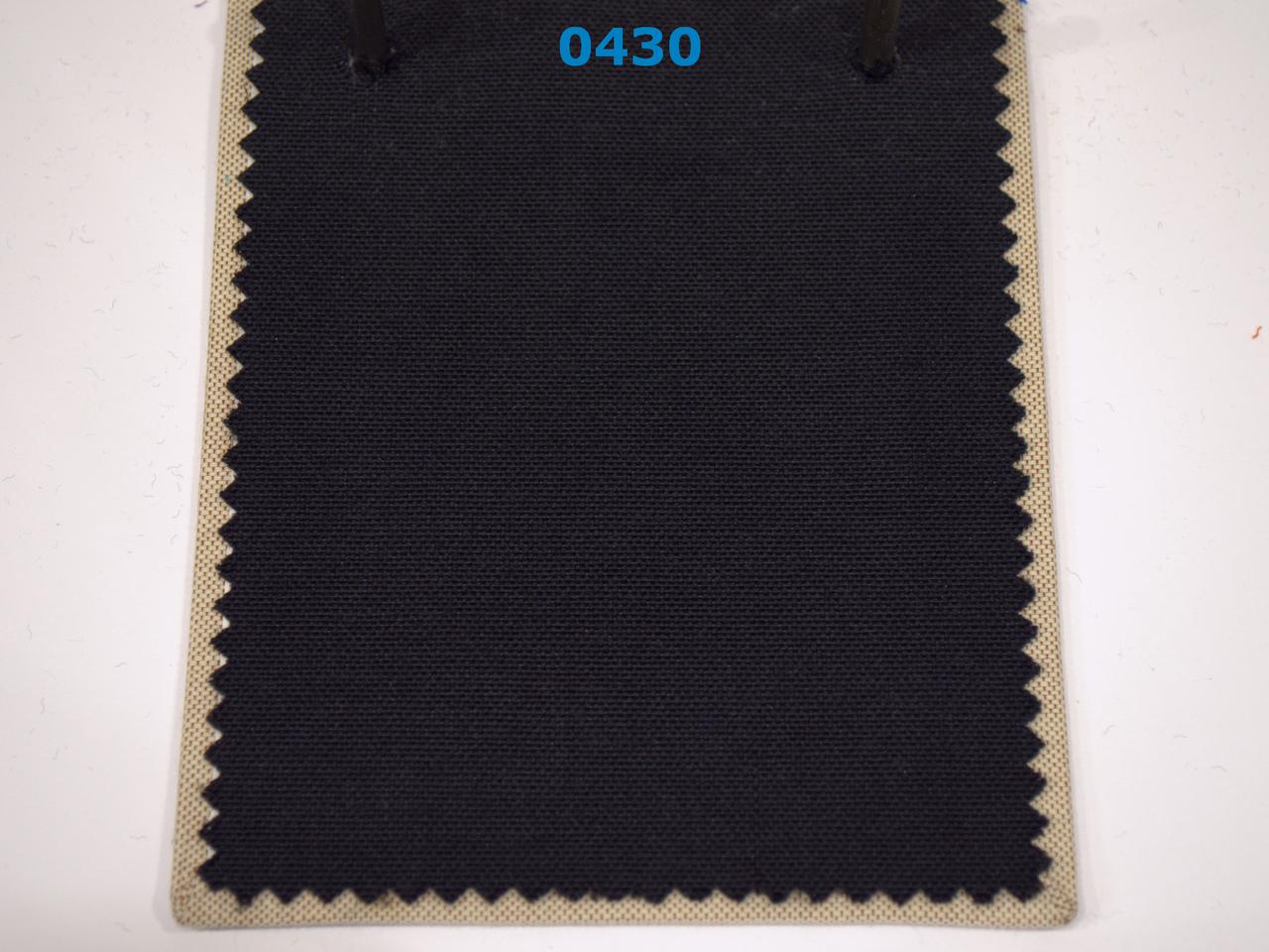 Тканина для Скатертин Чорна з просоченням Тефлон-180 Однотонна Туреччина 180см ширина