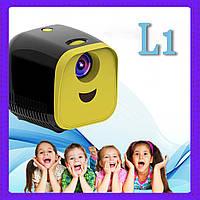 Проектор портативный с Wi Fi Vivibright L1 +anycast минипроектор детский проектор