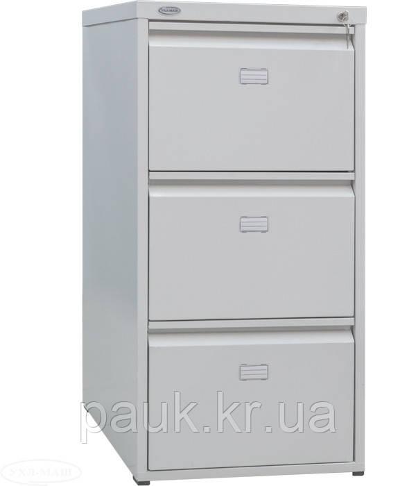 Шкаф для папок металлический ШФ-3А, офисный шкаф для документов