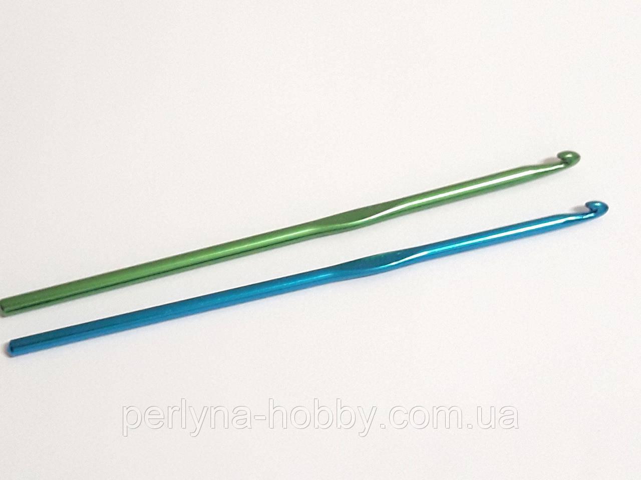 Гачок для в'язання плетіння алюмінієвий. Крючок для вязания № 2,5