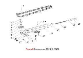 Направляющая ЖК- 82.05.400 (-01)