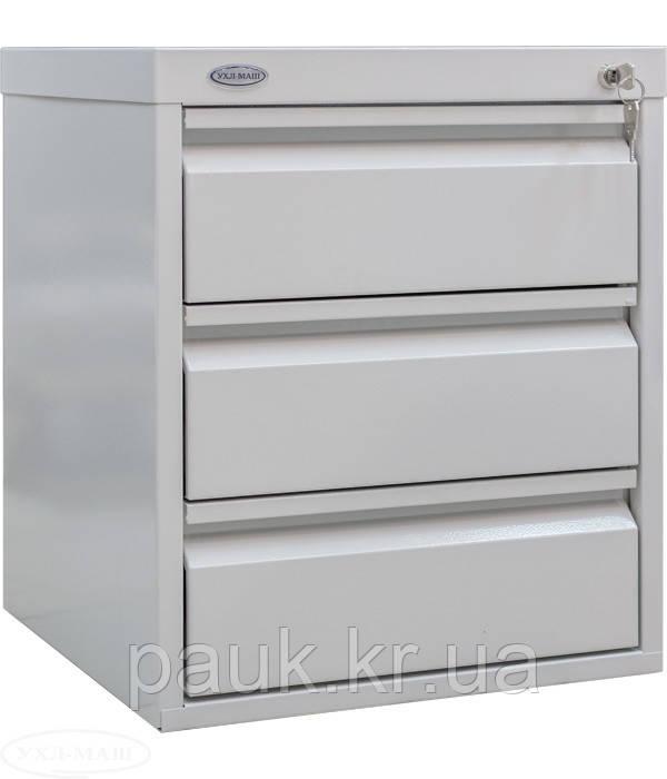 Металлический шкаф для трудовых книжек КС-3, картотека для трудовых книг