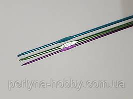 Гачок для в'язання плетіння алюмінієвий. Крючок для вязания № 4