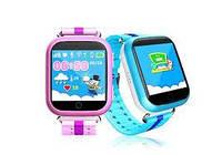 Детские наручные часы Smart Q100 с GPS отслеживанием ребенка