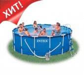 Каркасный бассейн Intex 54940/28234/28734, 457 см х 107 см., фото 1