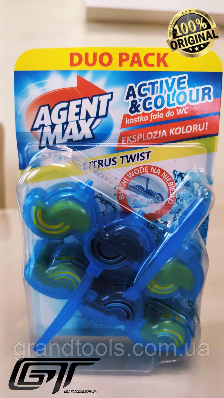 Блок для унитаза Agent Max Citrus Twist 2Х45