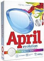 Стиральный порошок April Evolution Автомат Сolor protection 400г (4814628006629)