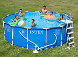 Каркасний басейн Intex 54940/28234/28734, 457 см х 107 див., фото 5