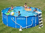 Каркасный бассейн Intex 54940/28234/28734, 457 см х 107 см., фото 5