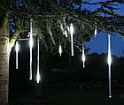 Гирлянда Тающие сосульки LED 50 см белые 8 шт | Новогодние гирлянды, фото 6