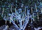 Гирлянда Тающие сосульки LED 50 см белые 8 шт | Новогодние гирлянды, фото 7