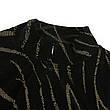 Боди чёрный бархат с золотом - 170-20, фото 4