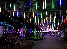 Гирлянда Тающие сосульки LED 50 см мультиколор 8 шт | Новогодние гирлянды, фото 7