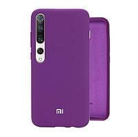ORIGINAL SILICONE Case full для Xiaomi Mi 10/10 Pro Grape