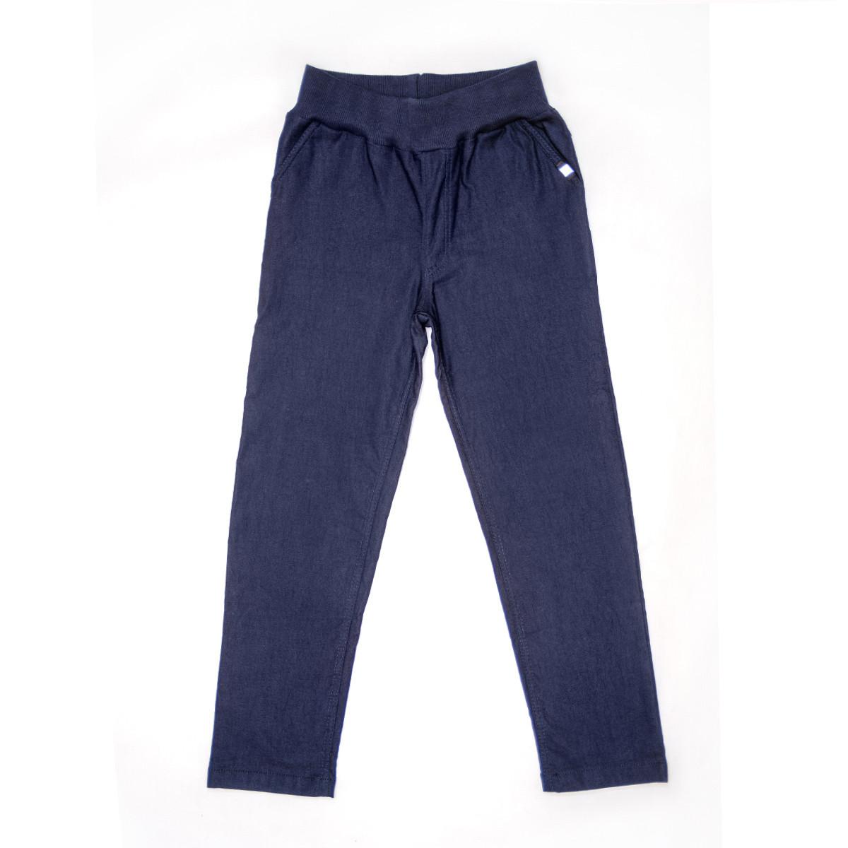 Брюки для мальчика на флисе р.152,158 SmileTime утепленные Warm Fashion, джинс
