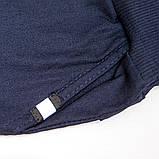 Брюки для мальчика на флисе р.152,158 SmileTime утепленные Warm Fashion, джинс, фото 5
