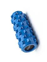 Роллер для занятий йогой и пилатесом синий Ecofit MDF022 32*12,5см