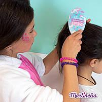 Мечты единорога магическая расческа для волос розовая (голубая, радужная) (20291R), фото 5