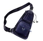 Кожаная мужская сумка через плечо Jeep 777 Bag, фото 5