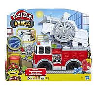 Play-Doh Wheels Firetruck Toy Пожежна Пожарная машина Плей До D4236 Тісто Тесто Лепка Ліплення