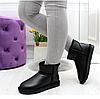 UGG уггі РОЗМІР 41 жіночі чорні угі чоботи теплі шкіряні зимові, фото 8