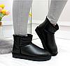UGG уггі РОЗМІР 41 жіночі чорні угі чоботи теплі шкіряні зимові, фото 6