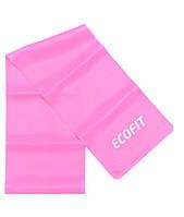 Еспандер стрічковий Ecofit MD1318 TPE 4,5-5,4 кг 1200*150*0.4 мм рожевий