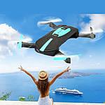 Квадрокоптер селфи-дрон JY018 с Wi-Fi-камерой, фото 6