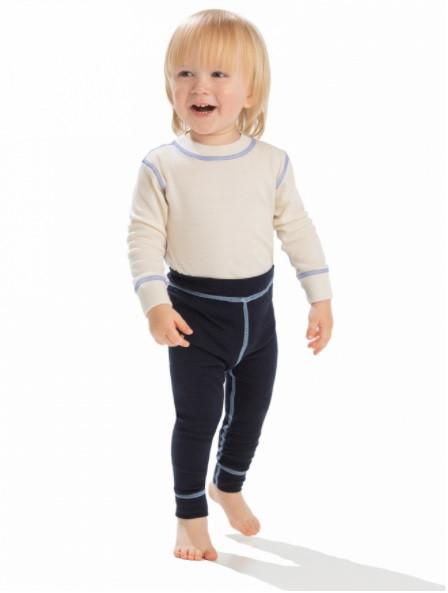 Термобелье кальсоны детские Norveg Soft для малышей синий