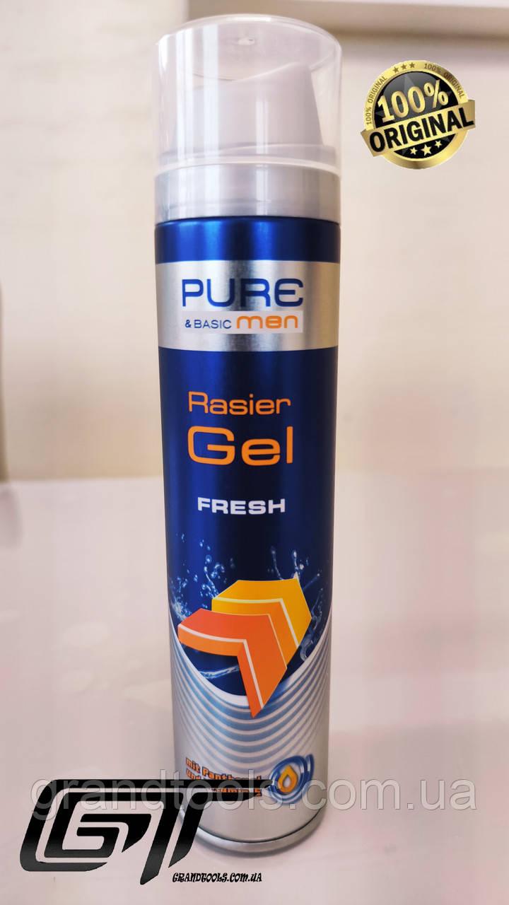 Гель для бритья Pure & basic MEN Fresh, 250 ml