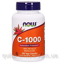 Витамин С NOW Vitamin C 1000 100 капсул