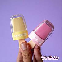 Бальзам для губ дитячий у вигляді морозива wonderland кавун (25529), фото 7