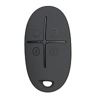 Беспроводная тревожная кнопка Ajax SpaceControl Black