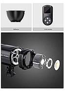 60W LED Светодиодный прожектор моноблок TOLIFO EF-60W - студийный источник постоянного дневного света, Bowens, фото 5