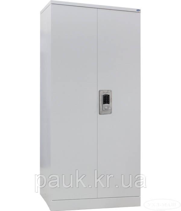 Шафа для офісних папок ШКГ-12 EL, шафа металева з електронним замком