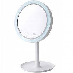 Дзеркало для макіяжу з підсвічуванням і вентилятором настільне Beauty Breeze Mirror USB