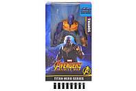 Игровая фигурка супергерои - антигерой Танос, герои Марвел Мстители, 95308