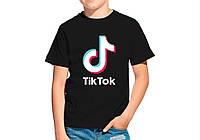 Детская футболка TIK TOK. ТИК ТОК . Футболка для мальчика .