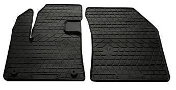 Коврики в салон резиновые передние для      DS 7 Crossback 2018- Stingray (2шт)