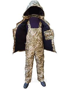 Костюм зимний для охоты и рыбалки Sky-Fish Зима, ткань оксфорд, двойной синтепон р. 48-50, 52-54, 56-58, 60-62