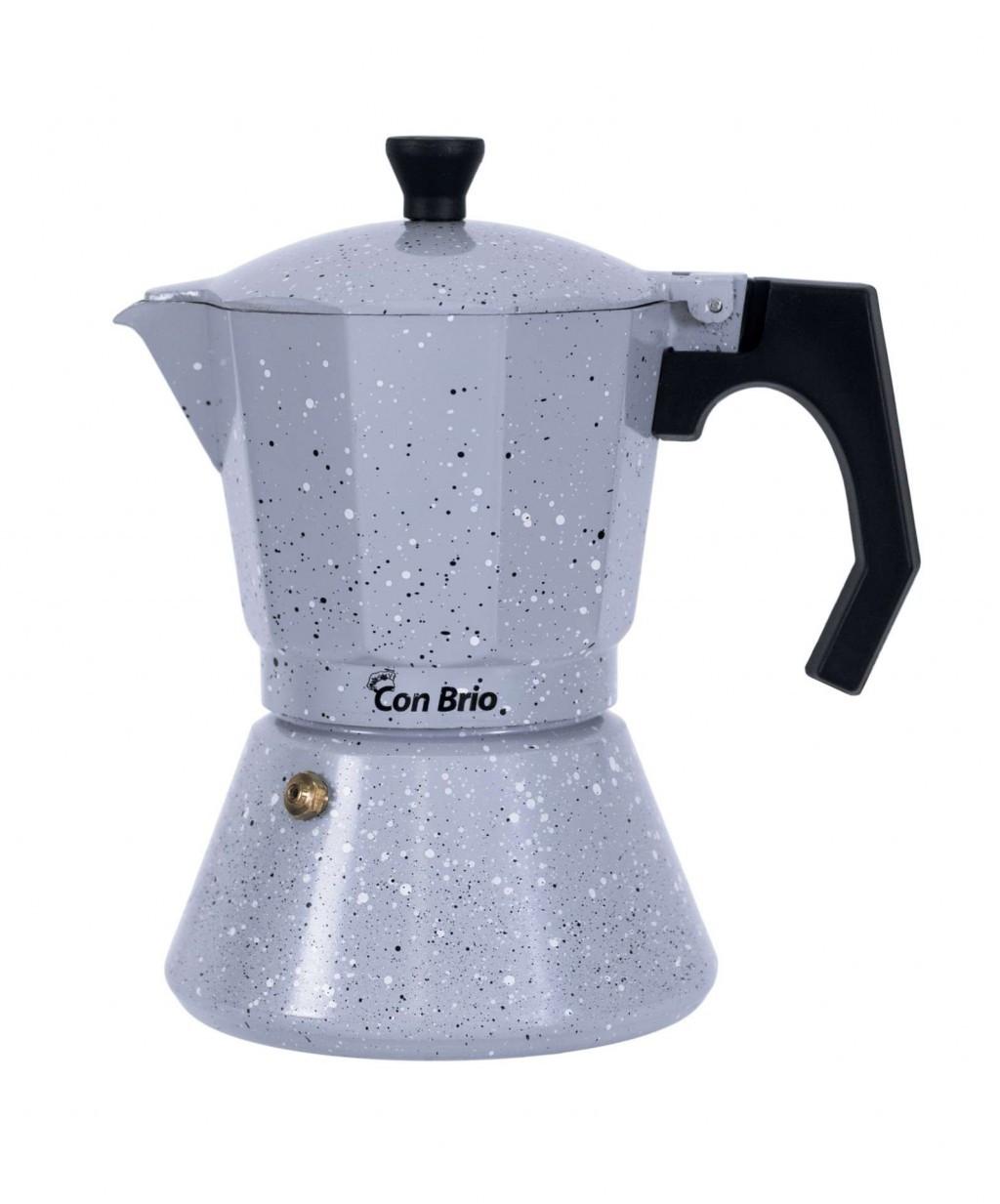 Гейзерная кофеварка con brio CB 6706 (Кон Брио) (6 чашек)