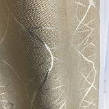 Солнцезащитные шторы из льна блэкаут | Готовые шторы из льна | Якісні штори з льону | Бежевые шторы |, фото 5