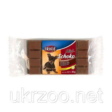 Лакомство для собак Trixie «Mini Schoko Dog Chocolate» 30 г (шоколад) 2973